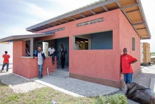 Haiti building back better master of international for Local house builders