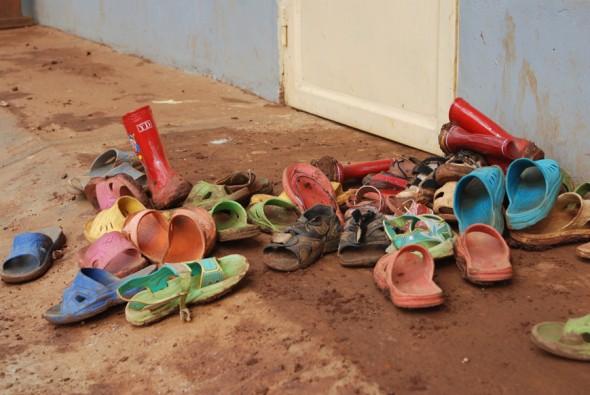 Rehabilitated school by UNICEF in Cyangugu, Rwanda