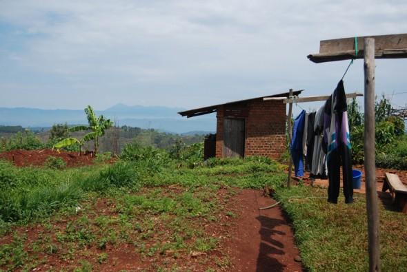 Nkombo island, Lake Kivu, Rwanda