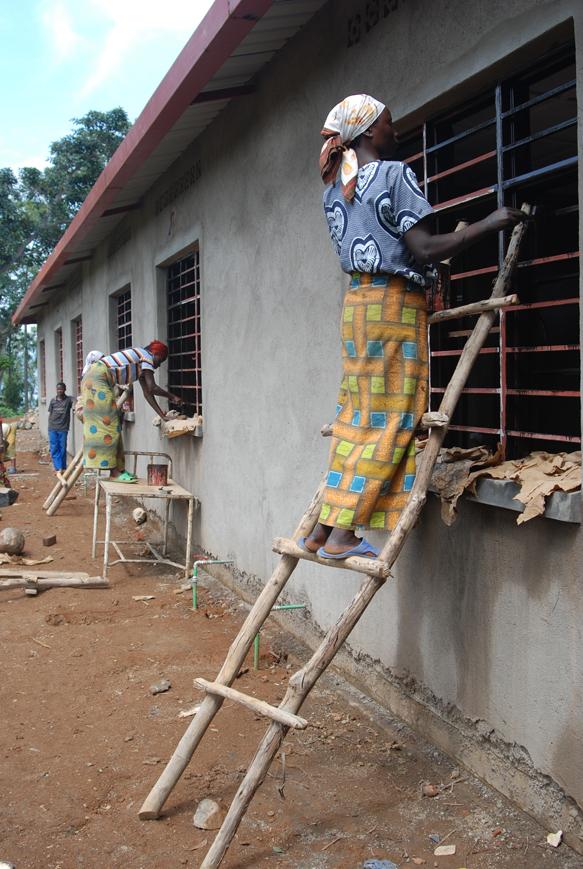Health clinic Colombo Island, Rwanda
