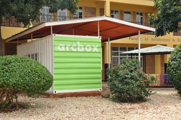 Arcbox gallery FAED KIST Rwanda