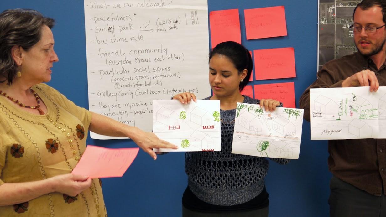 Alumni Elaine Morales' disaster-relief work with bcWorkshop