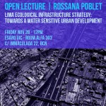 Open Lecture with former student Rossana Poblet