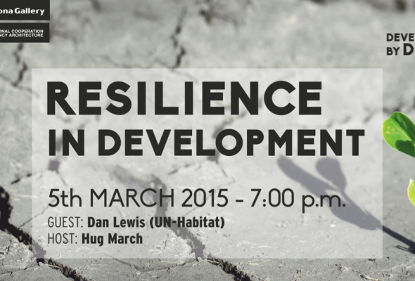 Development by Design: Dialogue with post-conflict expert Dan Lewis of UN-Habitat