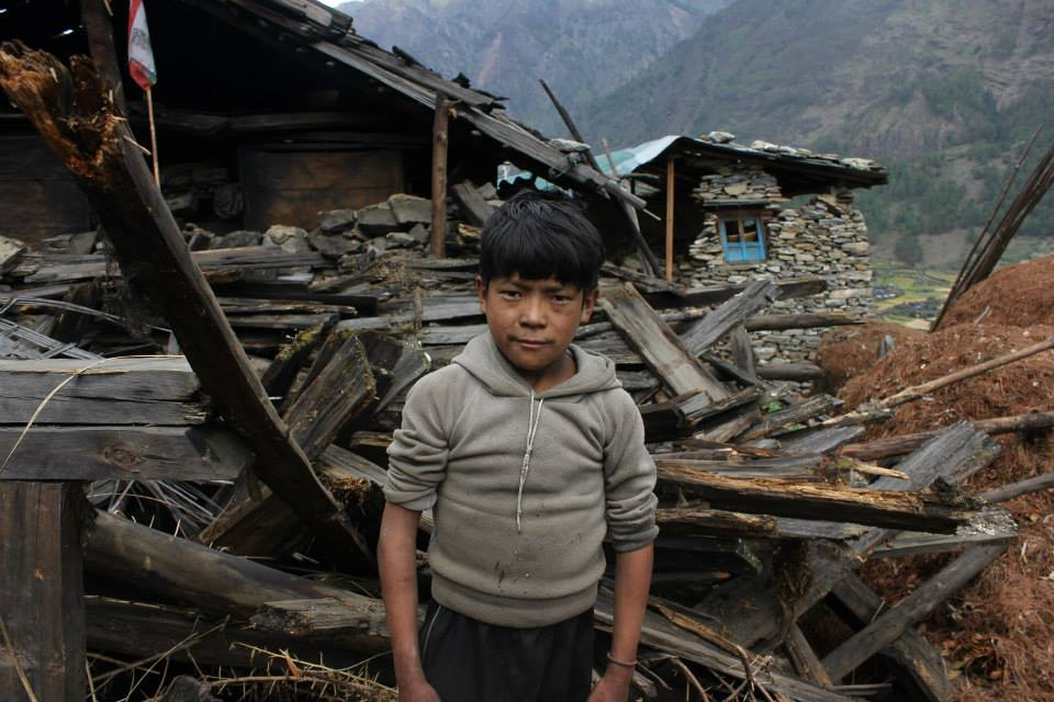 Former student Sonam Lama's account of the earthquake and rebuilding efforts in Nepal