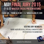 Final Jury 2015 | Master Thesis Presentations