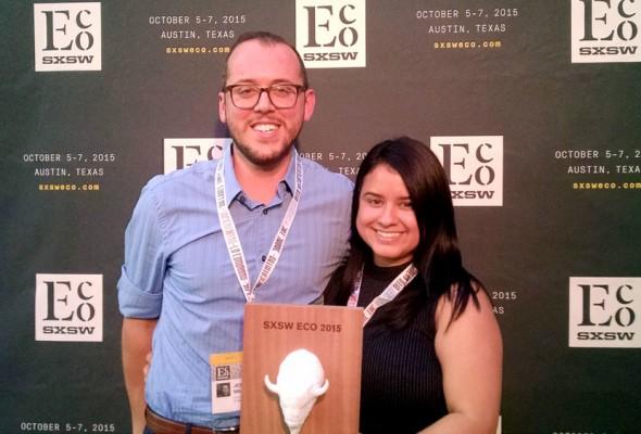 RAPIDO led by alumni Elaine Morales of BCworkshop wins SXSW Eco 2015 award