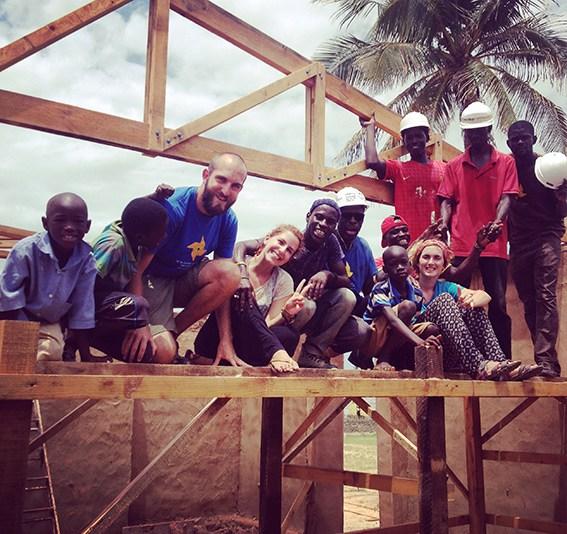 Alumni's Community Center in Senegal Nears Completion
