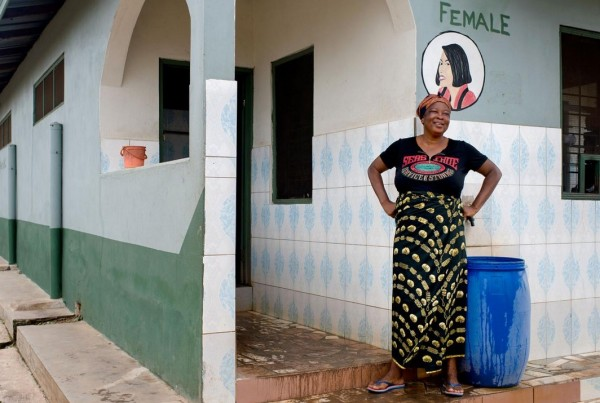 Public toilet_Kumasi Ghana