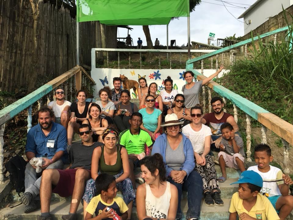 Students Continue Post-Earthquake Reconstruction Efforts in Ecuador