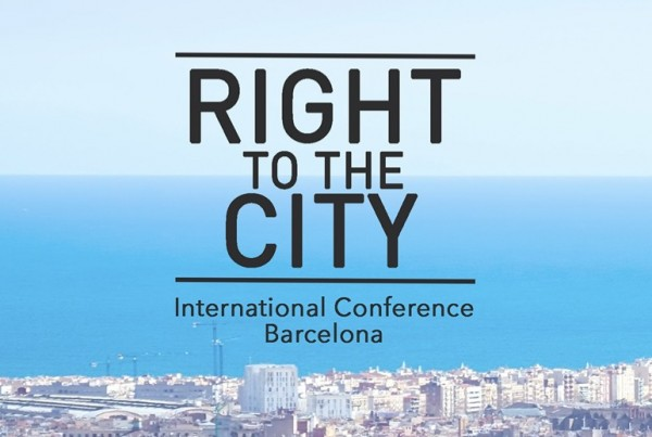 right to the city conference bcn