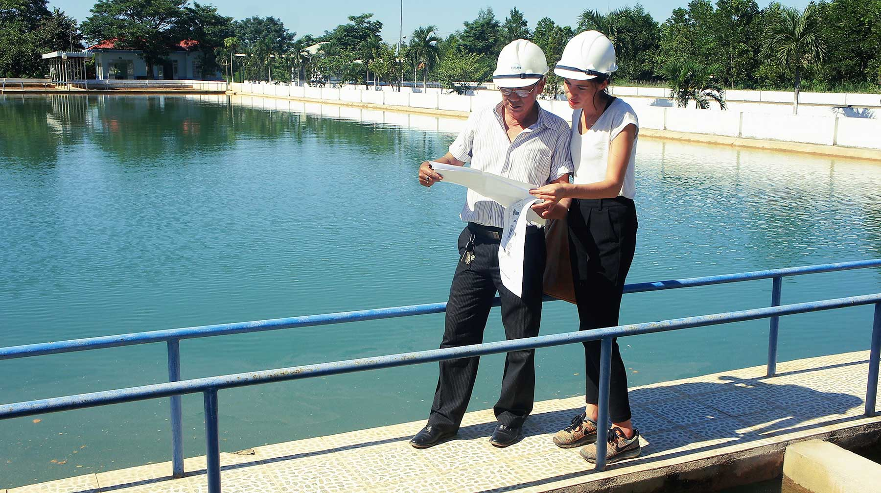 Former student's research sees impact on safe water access in Vietnam