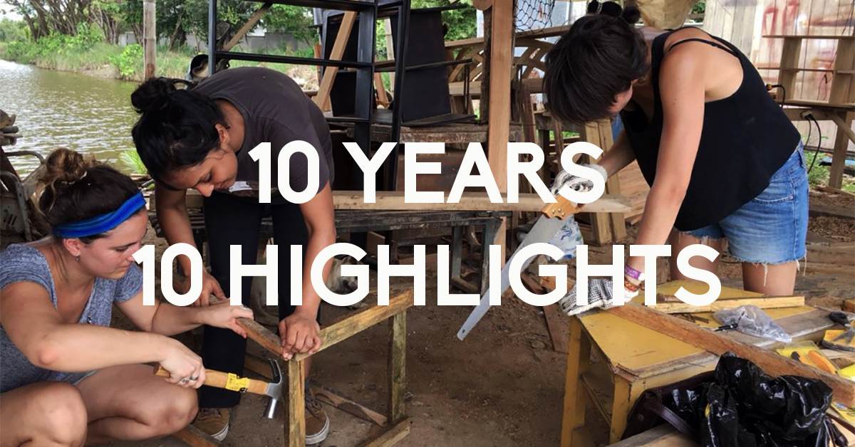 10 years – 10 highlights