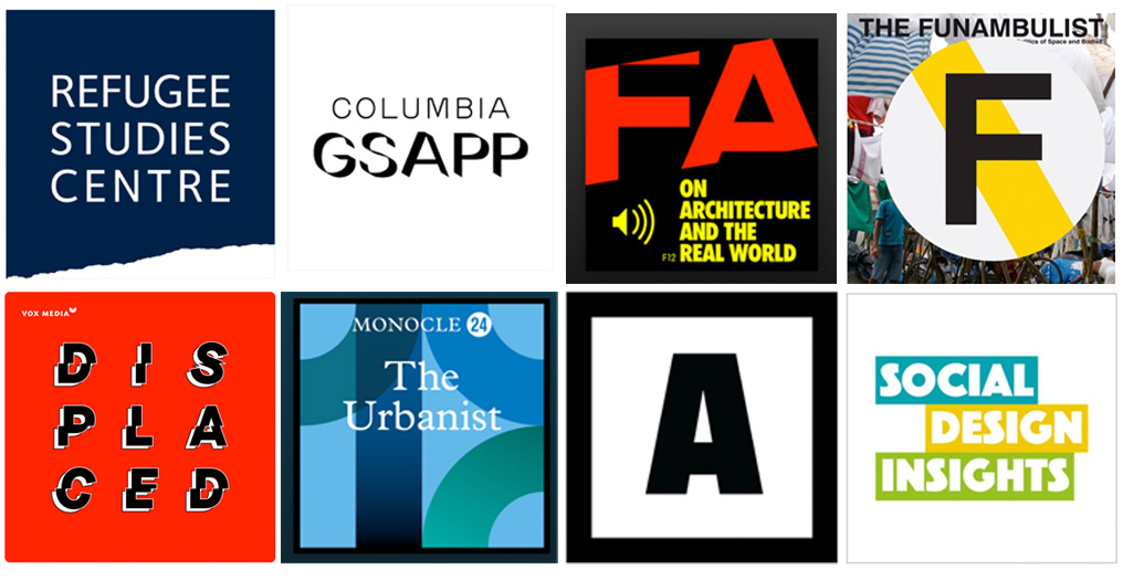 11 Podcasts on Humanitarian Architecture, Social Impact, Development and Climate Change
